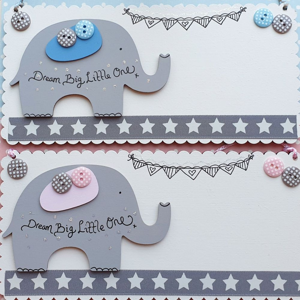 Dream Big Little One Birth Gift/Door Sign