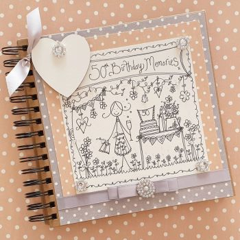 Special Age Personalised Special Memory Scrapbook
