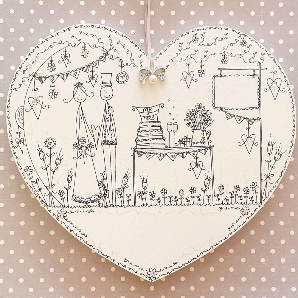 A Wedding Heart to Treasure
