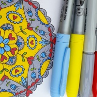 Pattern and pens one