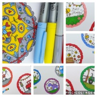 Pattern and pens two