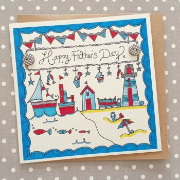 Bunting Boat and Beach Hut