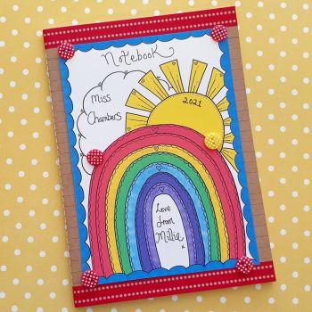 Rainbows and Sunshine Notebook