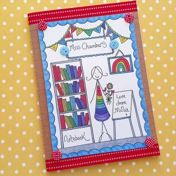 Rainbow Teacher in the Classroom Notebook