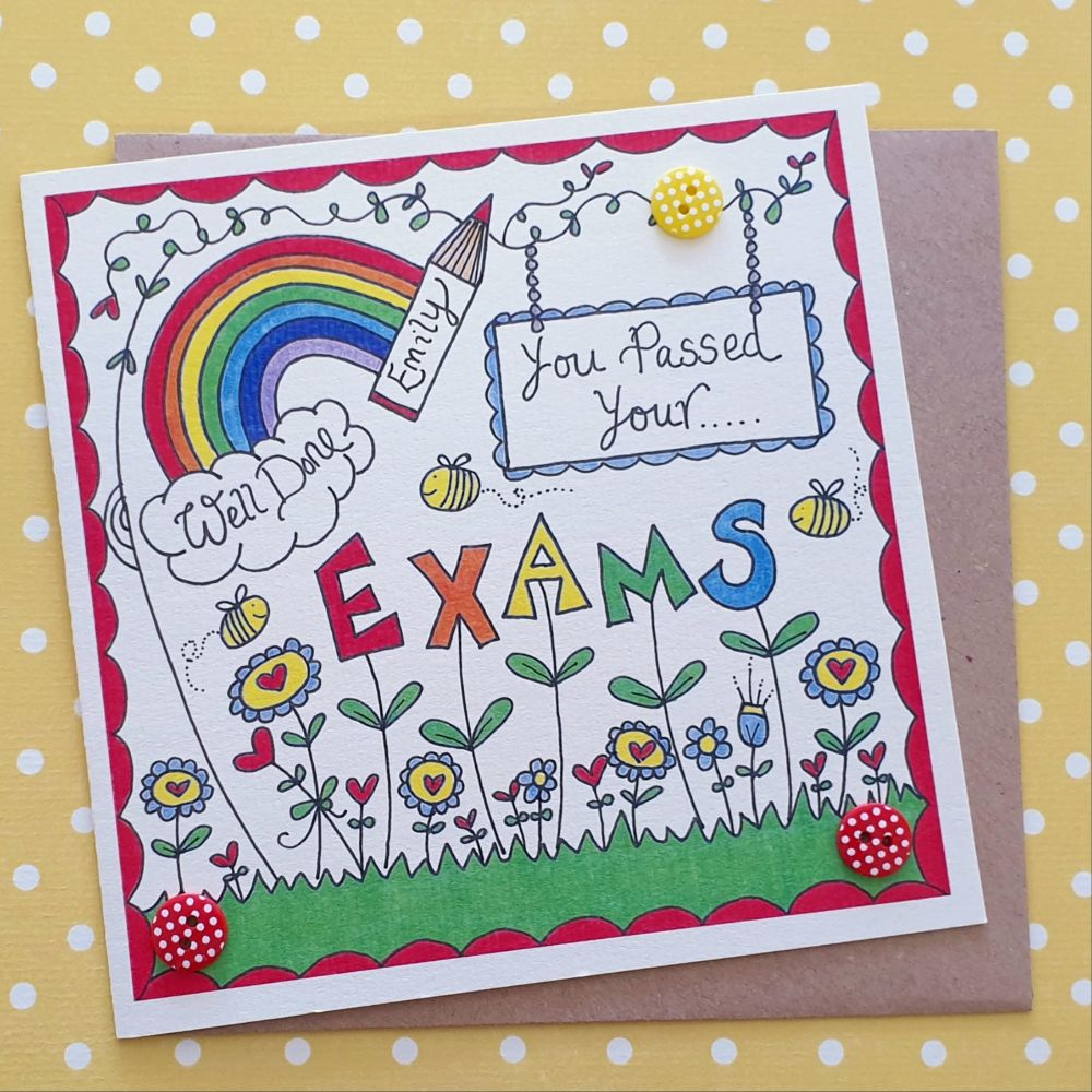 You passed your exams cards & Proud of you gifts
