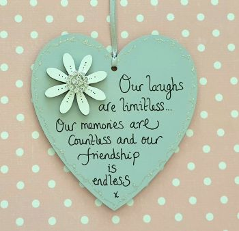 Our laughs are limitless heart