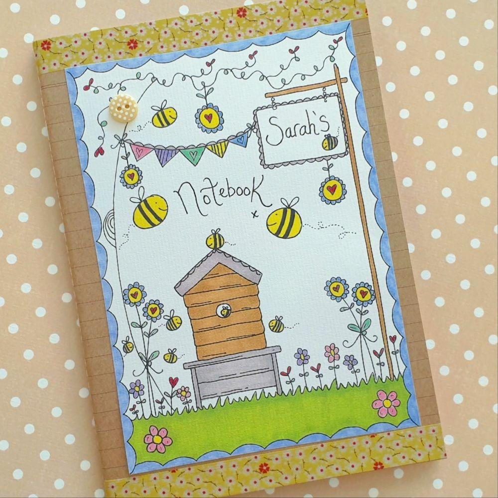 Bee Hive in the Garden