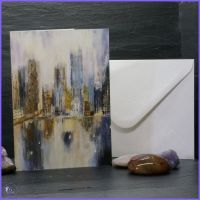 Cityscape Reflections Card.