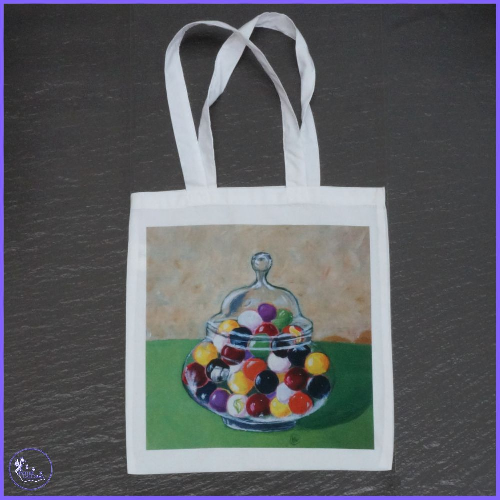 Tote Bags and Coin Purses.