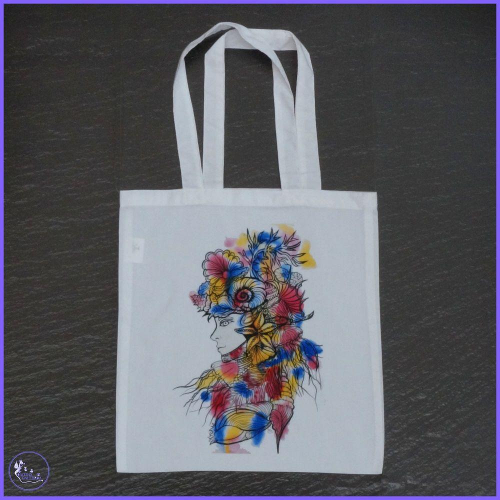 Sea Lady Tote Bag.