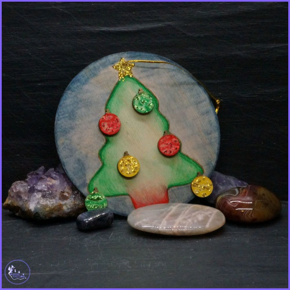 Single Sided Christmas Tree Decoration.