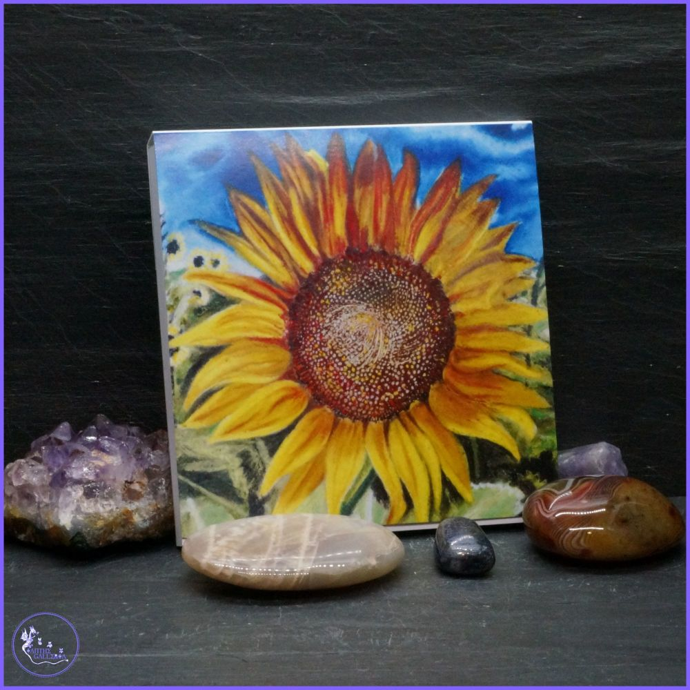 Sunflower Notepad.