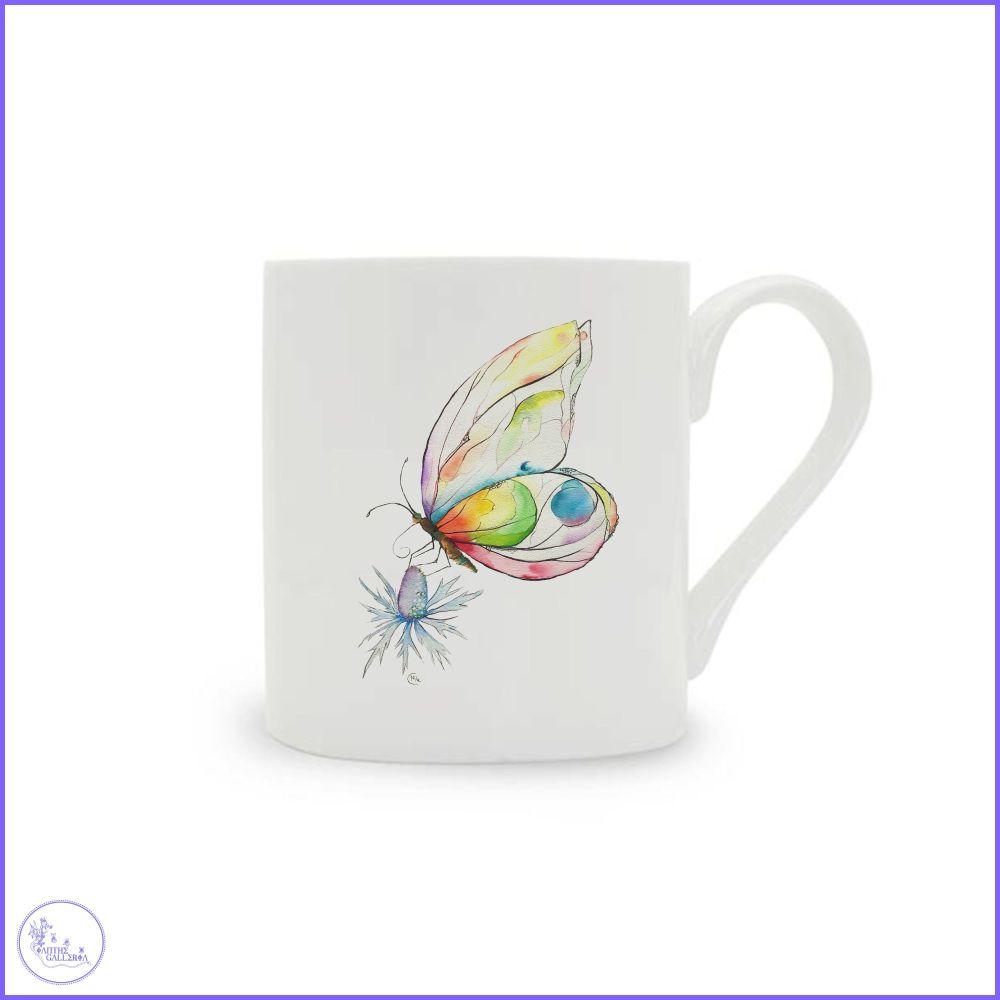 Butterfly China Mug.