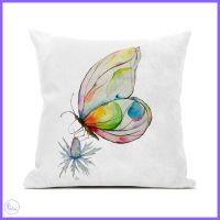 Butterfly Canvas Cushion.