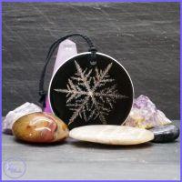 Ceramic Snowflake Decoration.