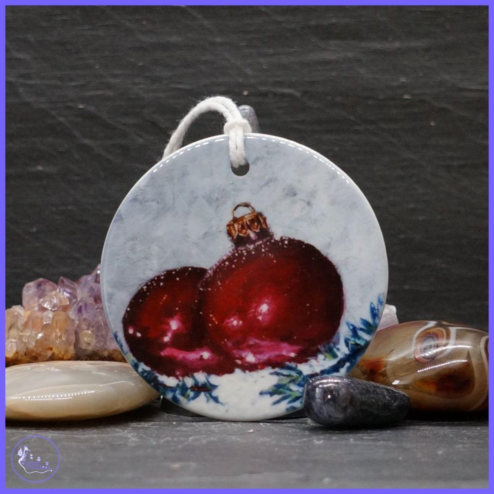Ceramic Baubles Decoration.