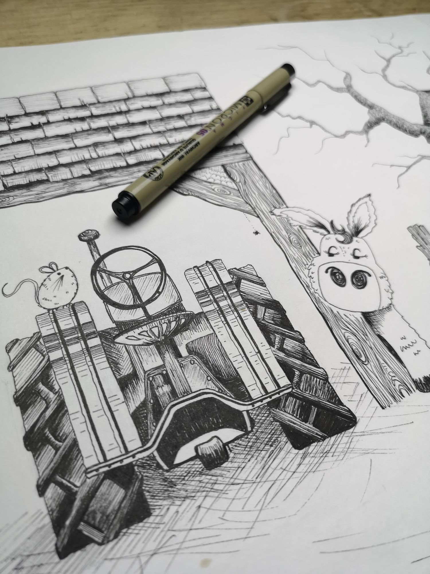 farmyard illustrations