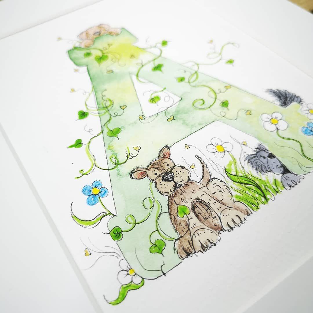 bespoke watercolour prints