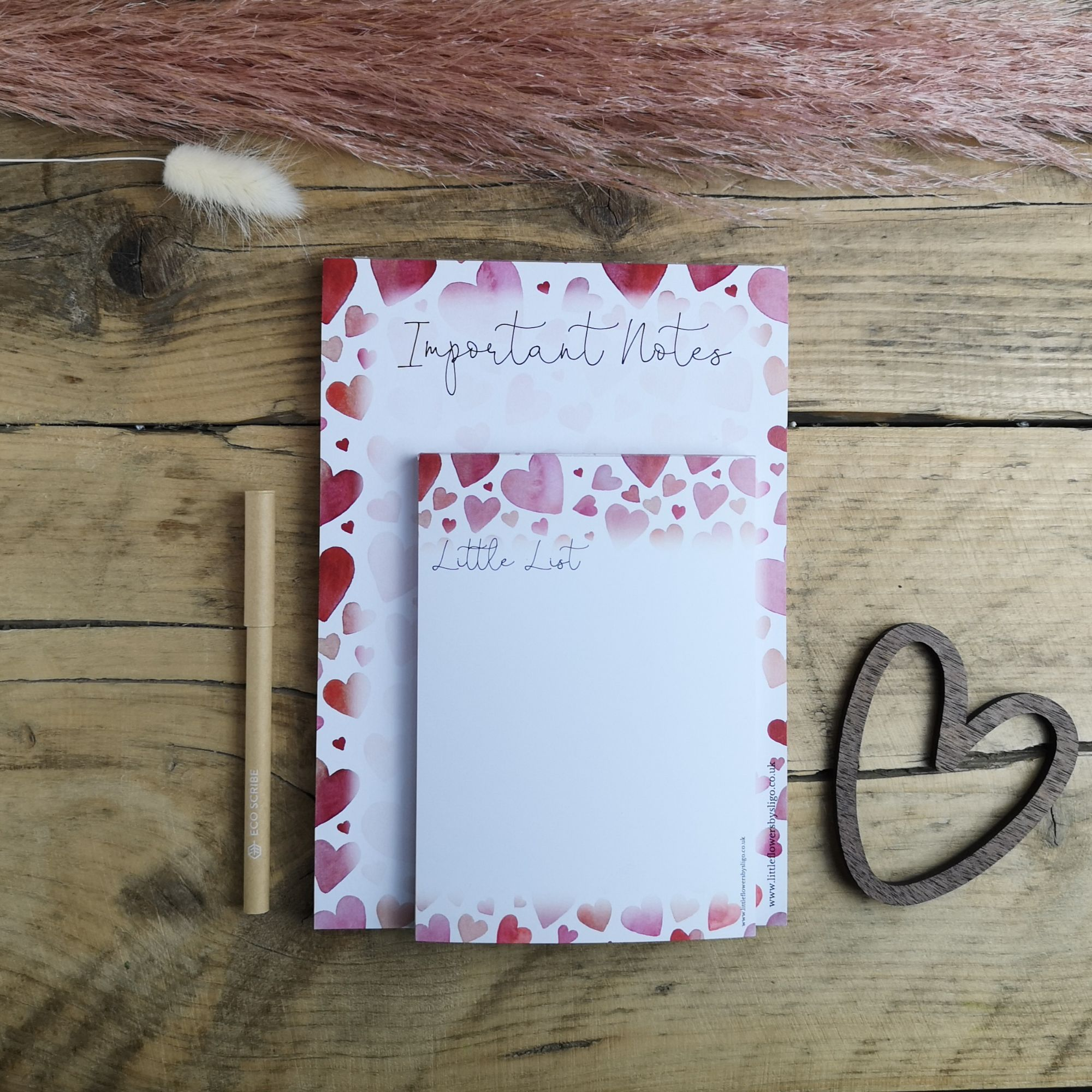 Notepads for Lists