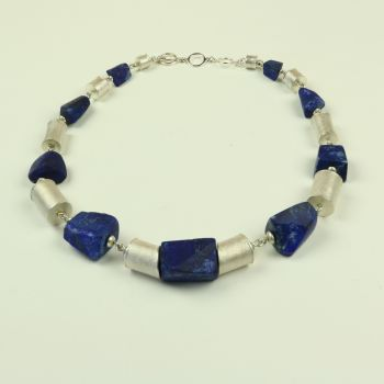 Lapis and Silver Necklace £800.00