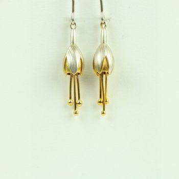 Fuchsia Small Drop Earrings