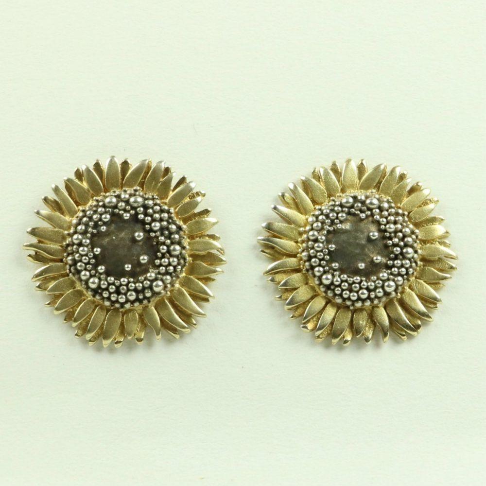 Sunflower Large Stud Earrings