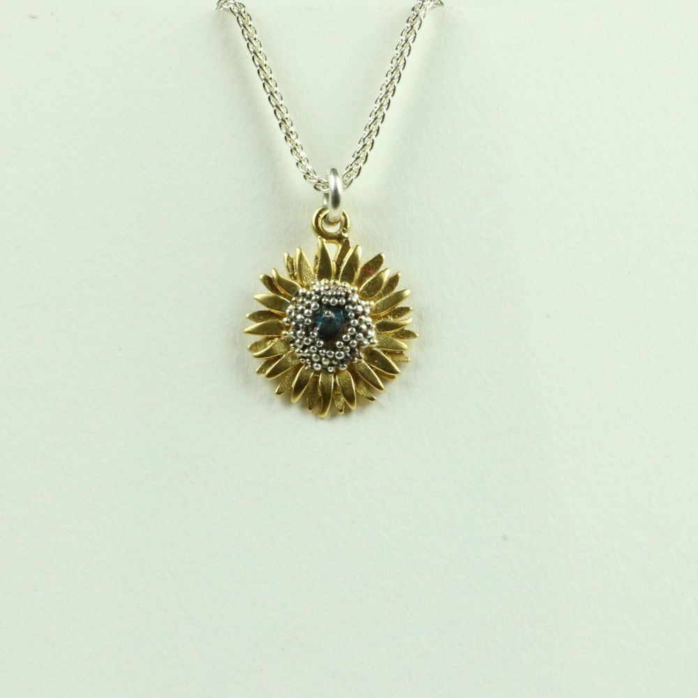 Sunflower small pendant