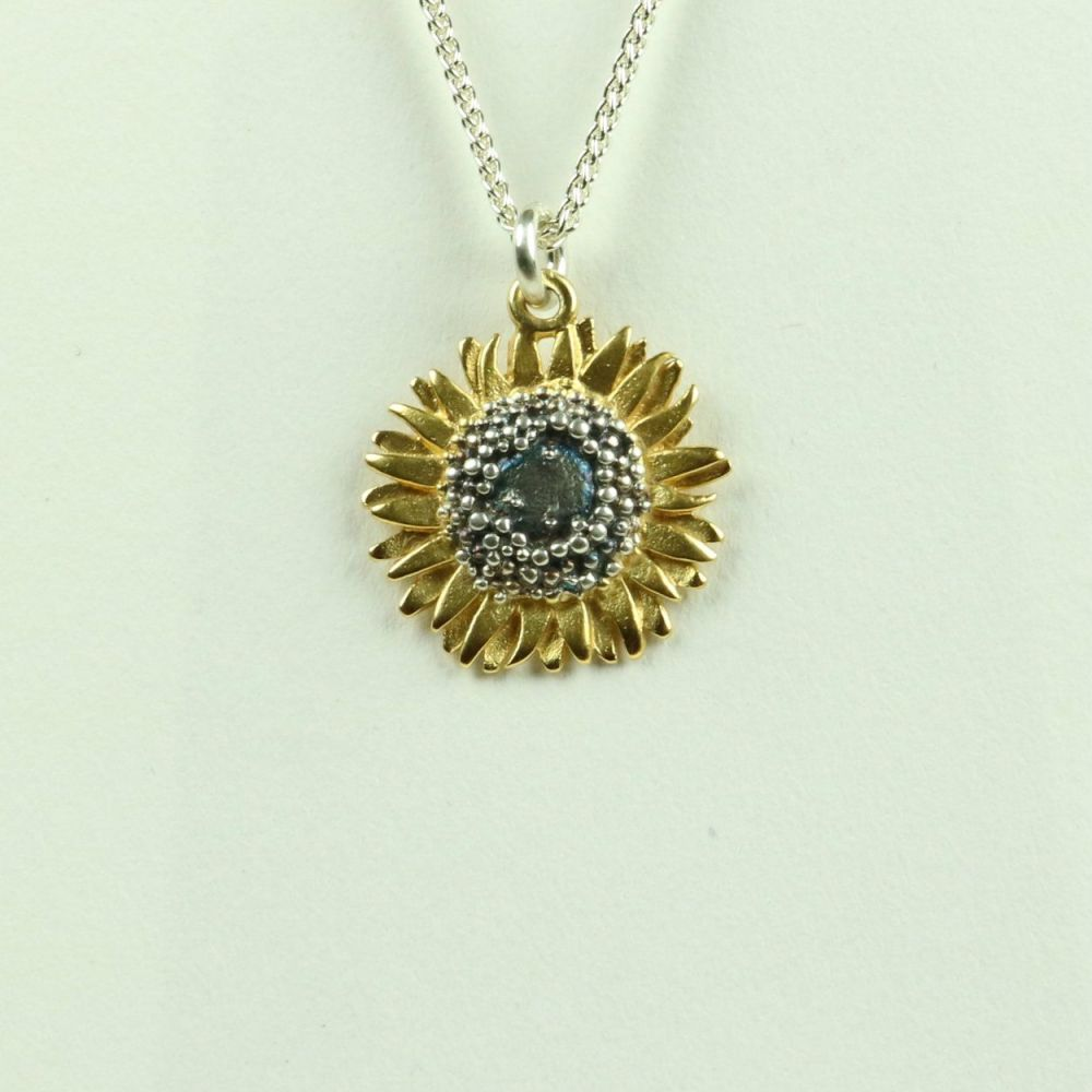 Sunflower medium pendant