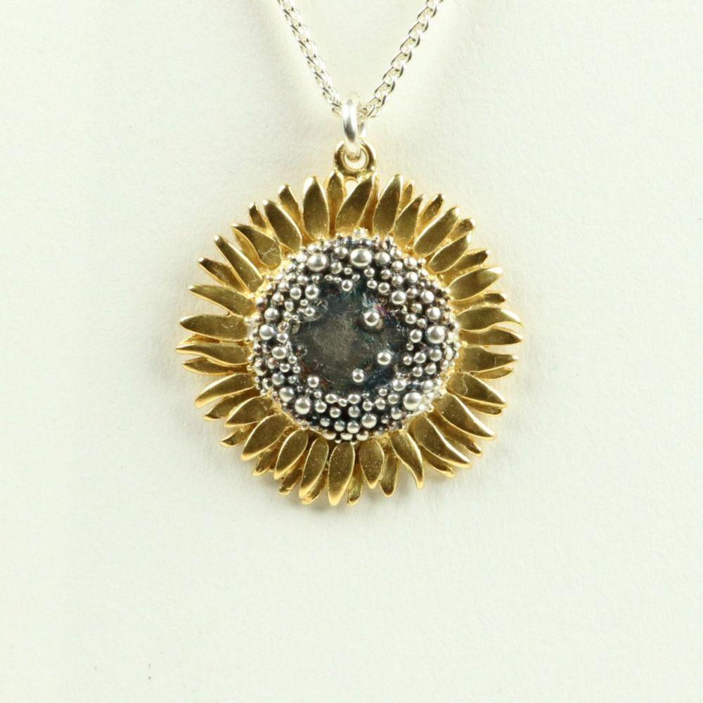 Sunflower large pendant