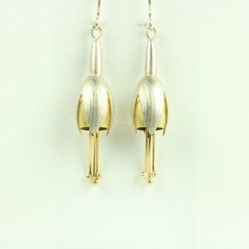 Fuchsia Large Drop Earrings