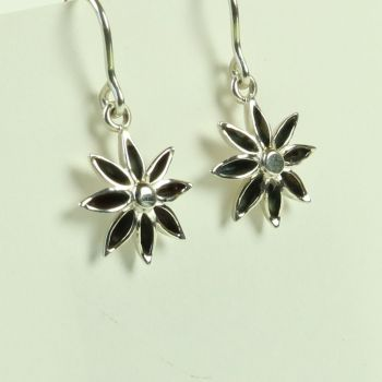 Star Anise Medium Drop Earrings