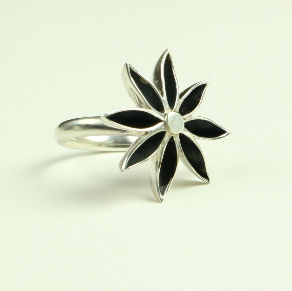 Star Anise Large Ring