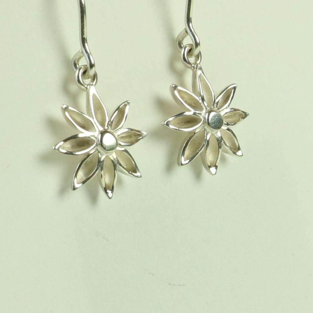 Star Anise Medium Drop Earrings