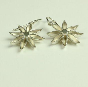Star Anise Large Drop Earrings