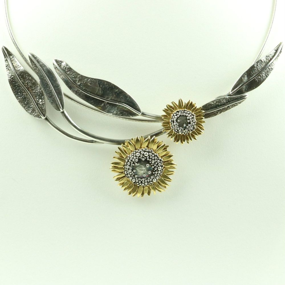 Sunflower Neckpiece