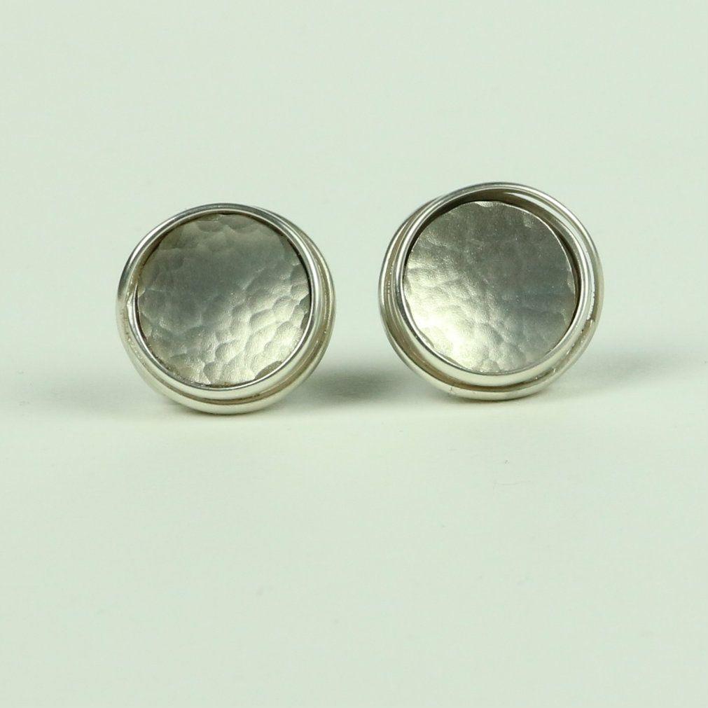 Large Stud Earrings WES 3