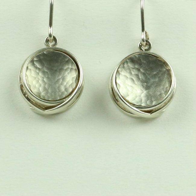 Large drop earrings WED 3
