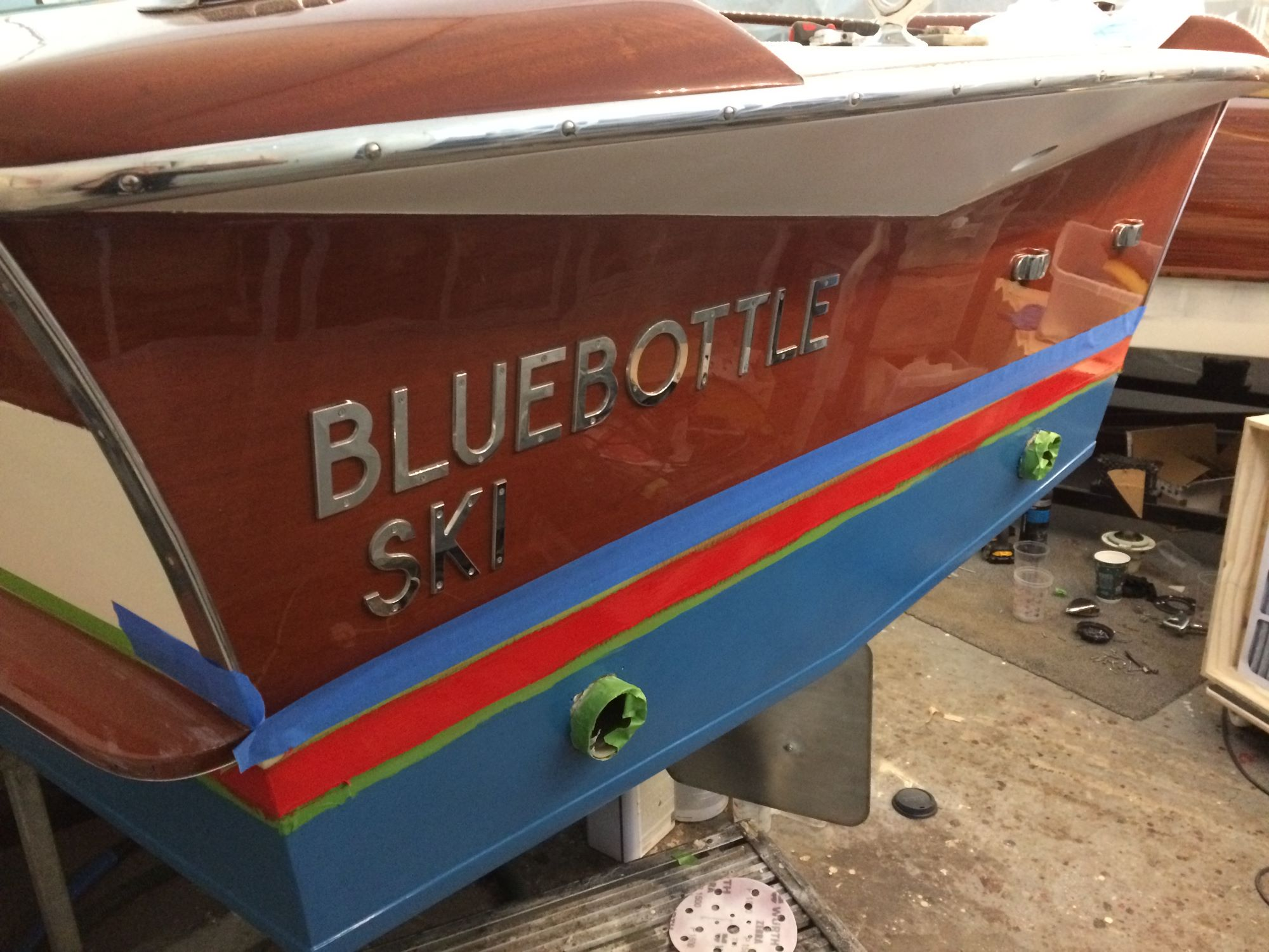 riva junior restoration once owned by Peter Sellers