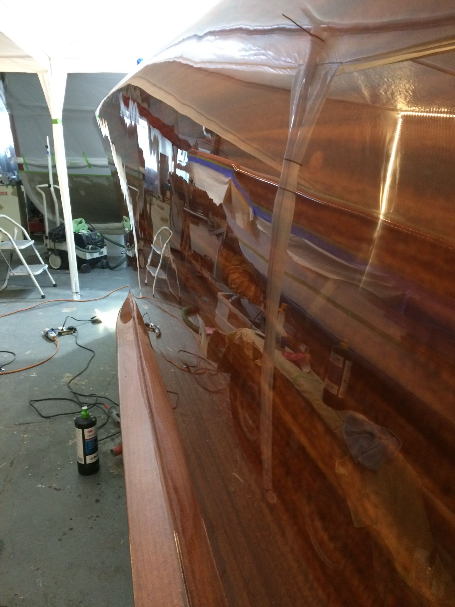 riva super florida varnish work and polishing