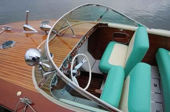 riva boat windscreen and seats