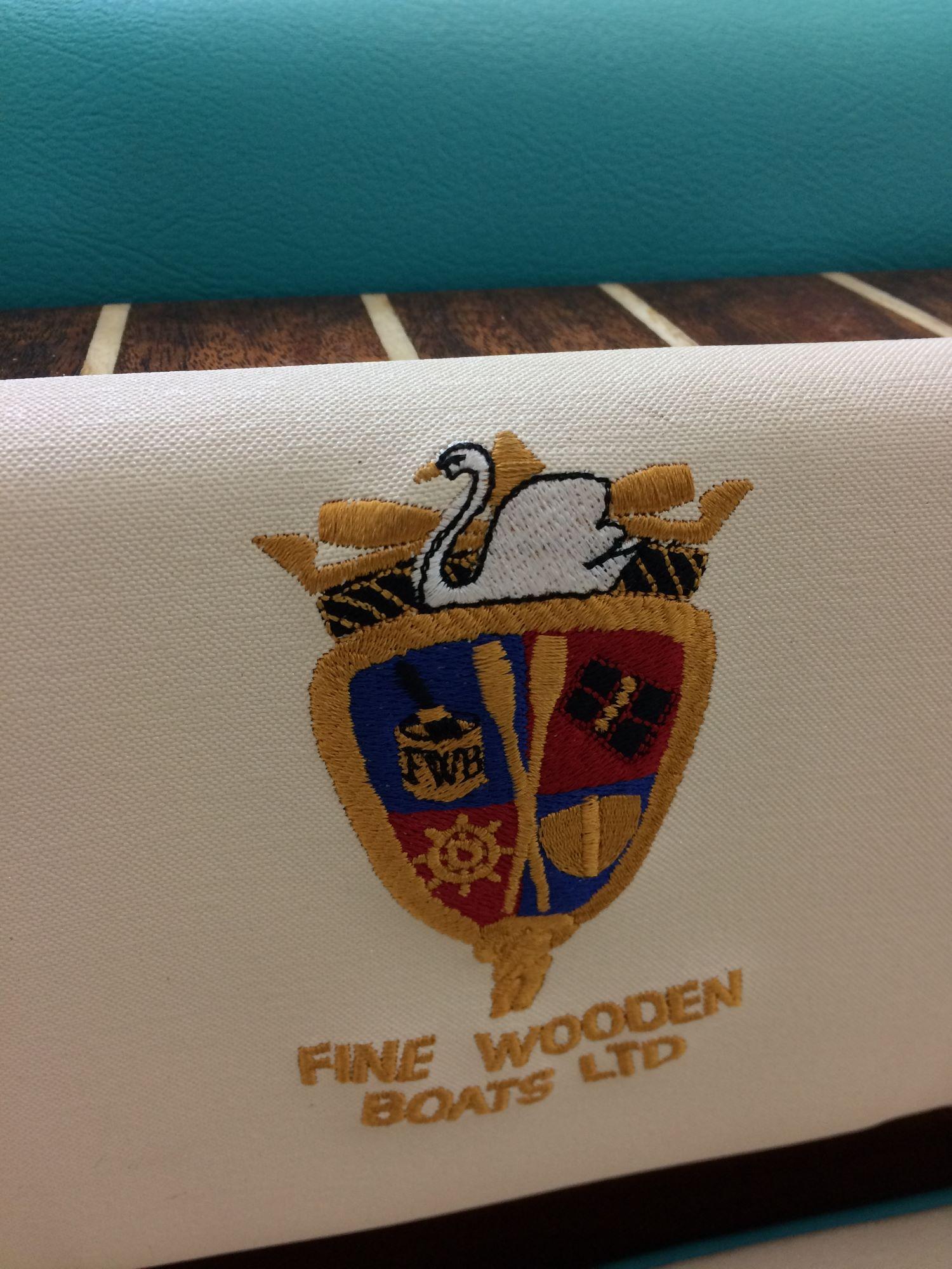 logo fine wooden boats
