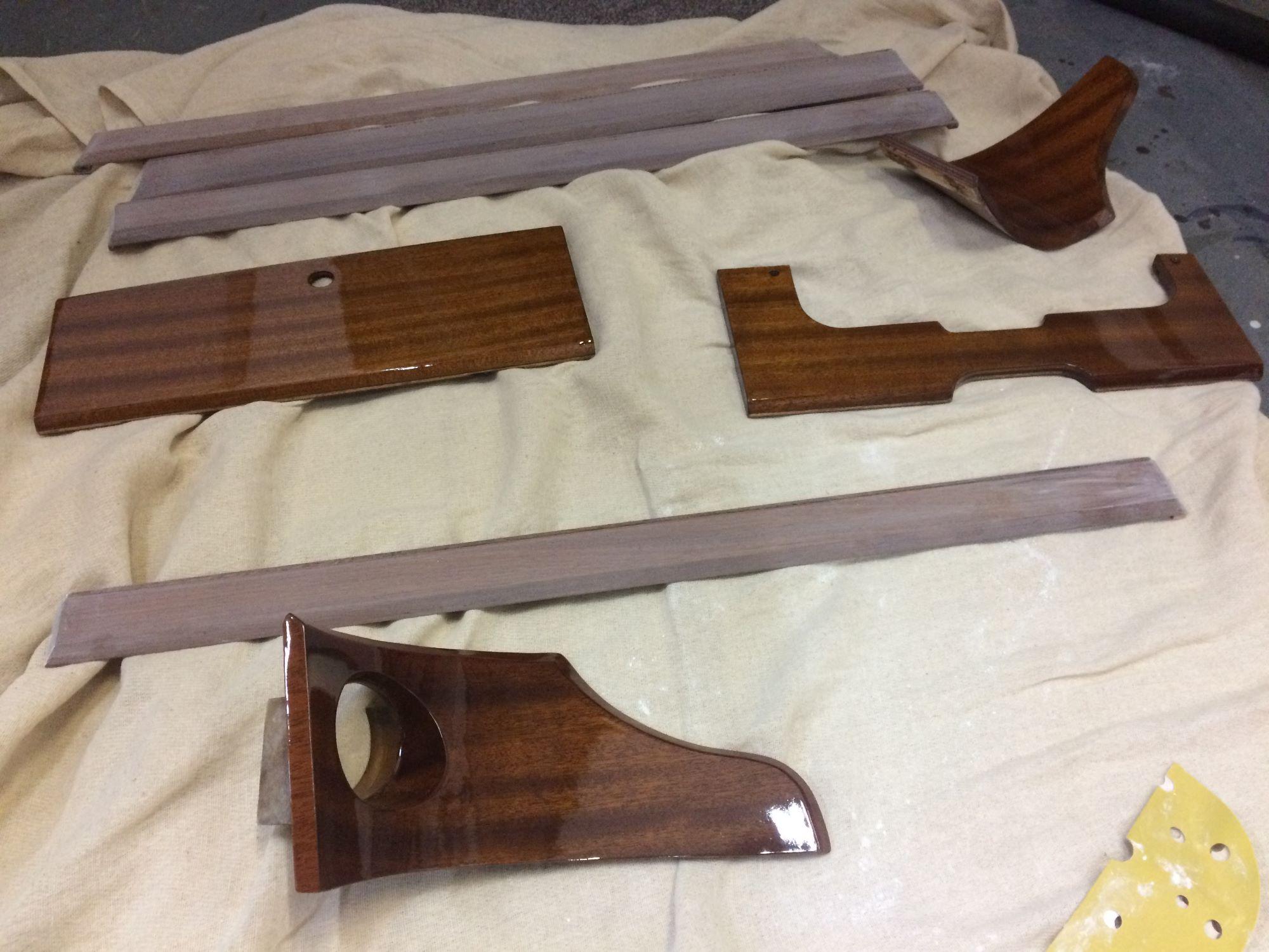car wooden parts