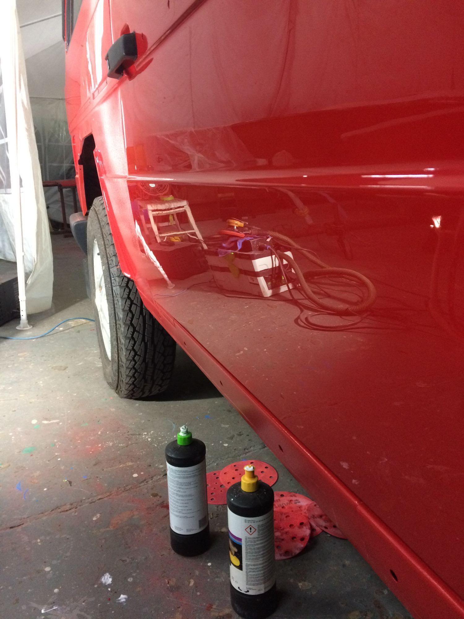 G wagon 3m polishing