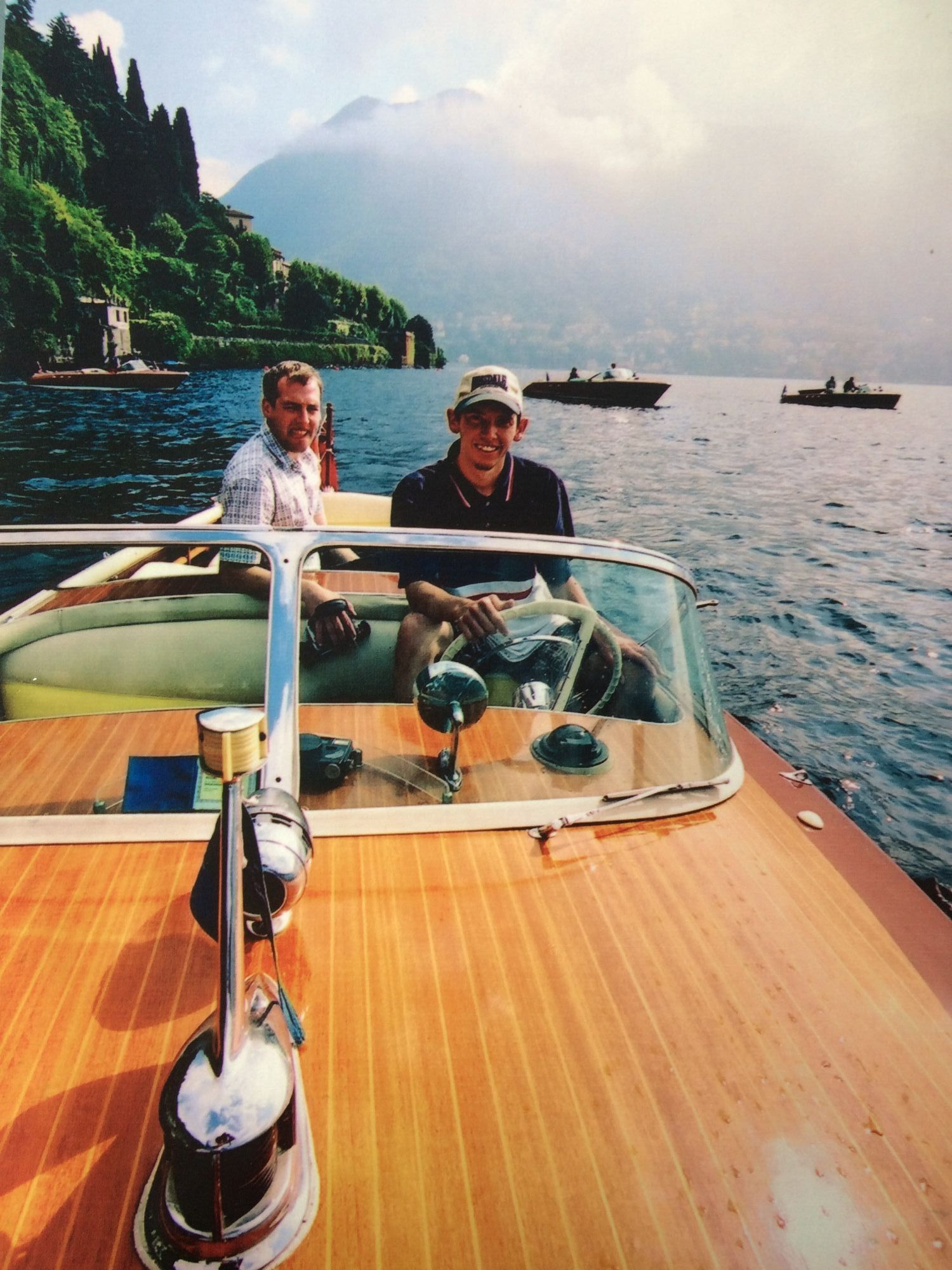 Riva Lake Como Italy
