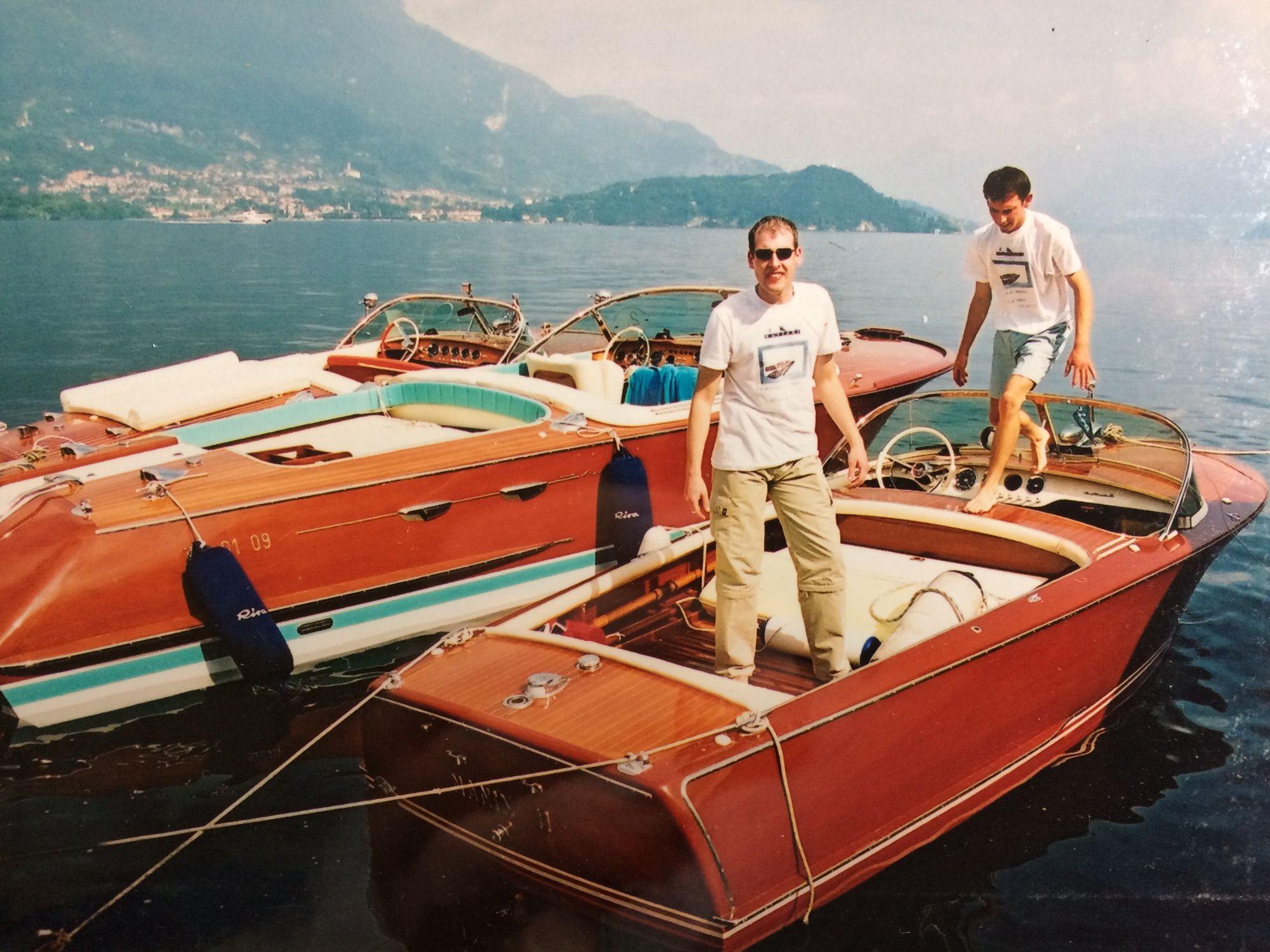Riva Lake Como boats