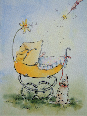 'Health & Happiness' Art Card