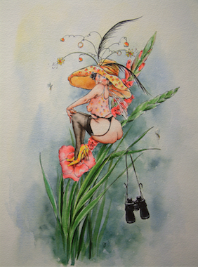'Dandelion' Art Card