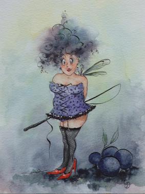 'Sloe' Art Card