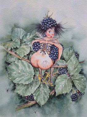 'Bramble' Art Card