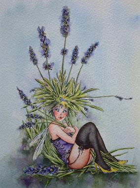 'Lavender' Art Card